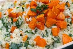 Butternut Squash and Kale Risotto