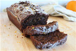 Chocolate-Orange Spiced Banana Bread