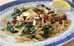 Lemon-Spinach Orzo