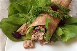 Olive and Herb Tuna Wrap