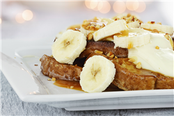 Orange-Banana French Toast