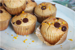 Orange Chocolate Chip Muffins