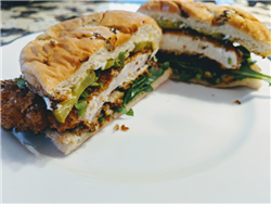 Panko Fried Chicken Sandwiches