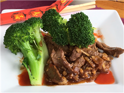 Broccoli with Beef and Ginger