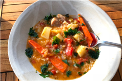 Farmhouse Sausage and Vegetable Soup